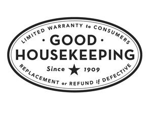 Good Housekeeping will replace items which bear the Good Housekeeping Seal of Approval.