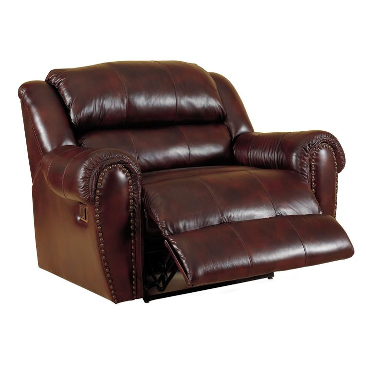 Lane Sidney Leather Reclining Snuggler - Sam's Club
