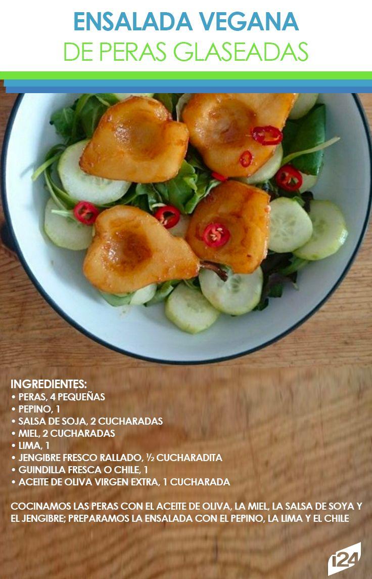 Deliciosa y muy fácil de hacer #Recetas #Ligeras #Light #Ensalada #Fitness