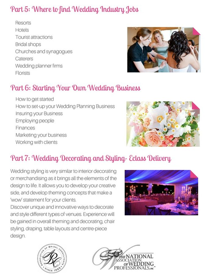 19 best How to Become A Wedding Coordinator images on Pinterest - event planning certificate