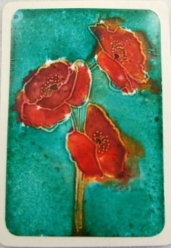 ACEO, Poppies £2.25
