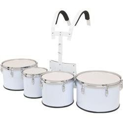 "Verve X Series 8-10-12-13 Quad Set with Carrier White by Verve. $259.99. The Verve X Series Marching Tom Set includes 8"", 10"", 12"", 13"" toms with T-bar carrier! White. Economical and lightweight!"