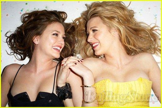 best friends.: Best Friends, Friends Photo, Bestfriends, Rolls Stones, Blake Living, Xoxo Gossip, Friends Poses, Leighton Meester, Gossip Girls