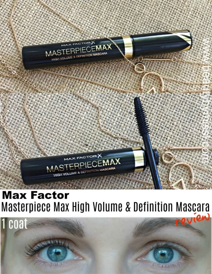 Max Factor Masterpiece Max Mascara Review Mascara Max Factor Max Factor Mascara