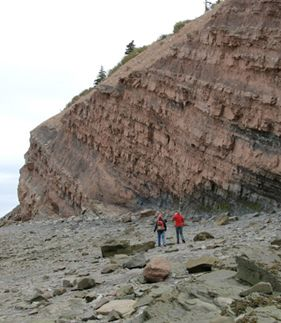 Joggins Fossil Cliffs in Nova Scotia: Ancient history becomes exciting adventure at Joggins, a UNESCO World Heritage Site.