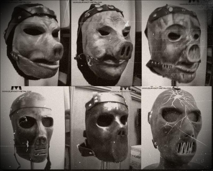 Paul Gray's mask evolution. | Slipknot/ Stone sour ...