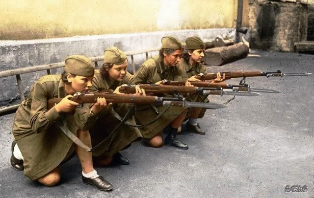 russian women snipers