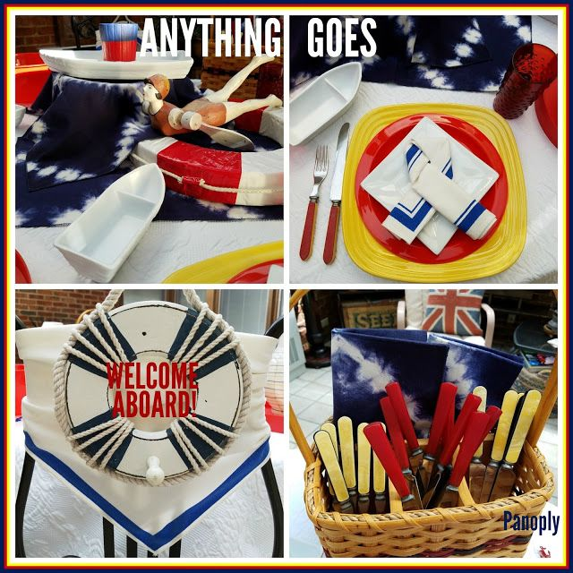 Panoply: Anything Goes: Broadway Tablescape