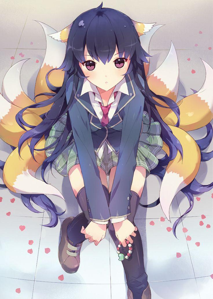 kitsune anime Google Search Anime fox boy, Cute anime