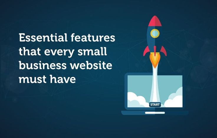 Essential features that every small business website must have
