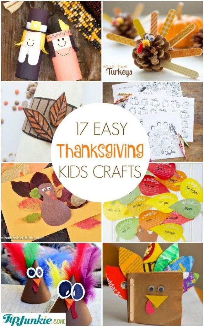 Easy Thanksgiving Kids Crafts-jpg