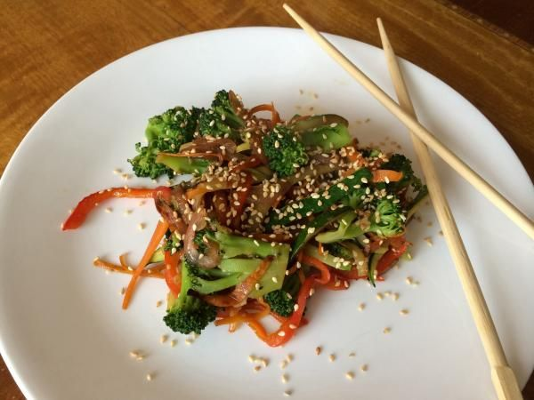 Receta de Wok de verduras - Fácil - 7 pasos