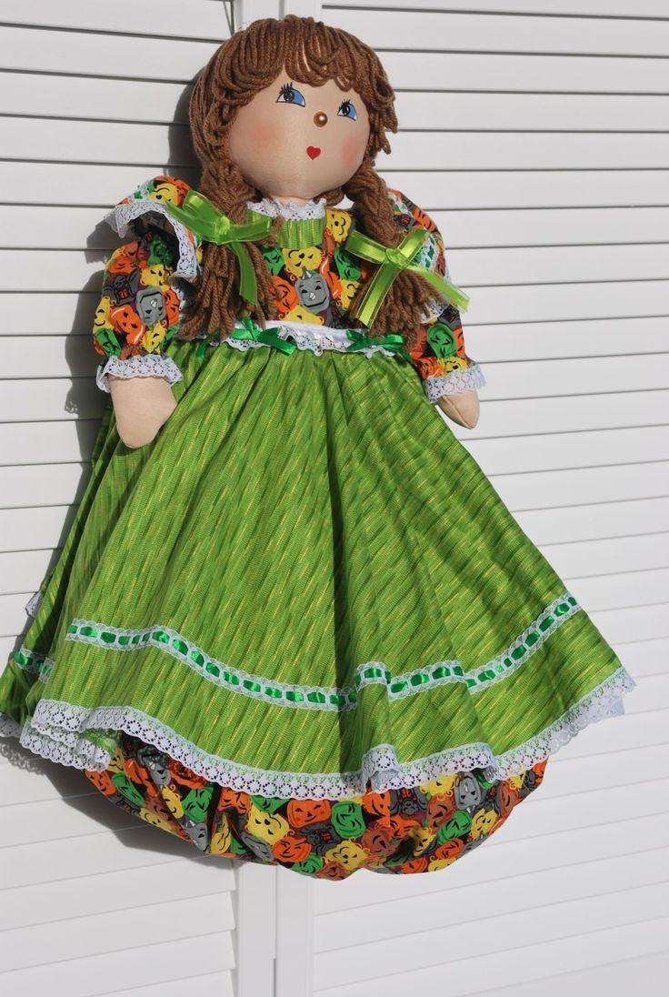 Lori - Plastic Bag Holder Doll | Plastic bag holder dolls by BagdolliaPlastic…