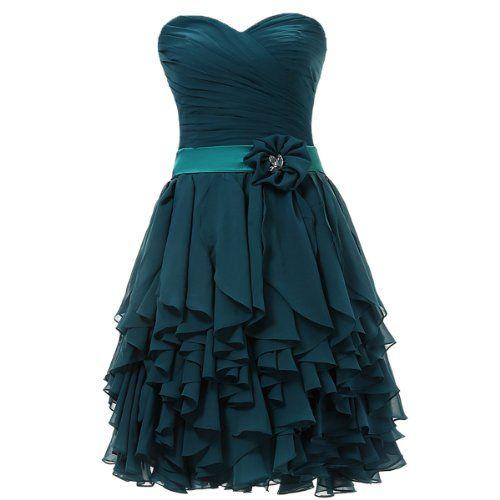 Dresstells Herzförmige Kurze Ballkleider Chiffon Brautjungfernkleider Cocktailkleider Abiballkleider für Damen Größe 38 Dunkelgrün Dresstells http://www.amazon.de/dp/B00DB3W4KW/ref=cm_sw_r_pi_dp_Pp2Zub1YDZY3N