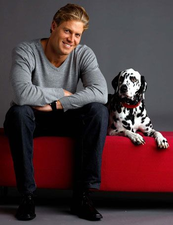 Chris Brown DVM | CANINE carer ... with help from his family, Bondi Vet star Chris Brown ...
