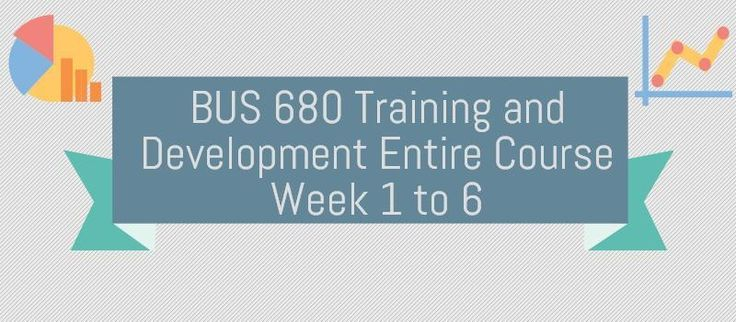 BUS 680 Week 1Discussion Question 1, Training PreferencesDiscussion Question 2, Learning TheoriesBUS 680 Week 2Assignment, Hardware Store Case AnalysisDiscussion Question 1, Design ConsultingDiscussion Question 2, Domtar Case StudyBUS 680 Week 3Assignment, CSS Case AnalysisDiscussion Question 1, Gam