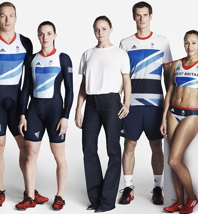 Stella McCartney says she started out with some crazy ideas when creating the Olympic kit    Read more: http://www.dailymail.co.uk/femail/article-2121030/London-2012-Olympics-Stella-McCartney-pressures-designing-kit.html#ixzz1v5TdVpnz