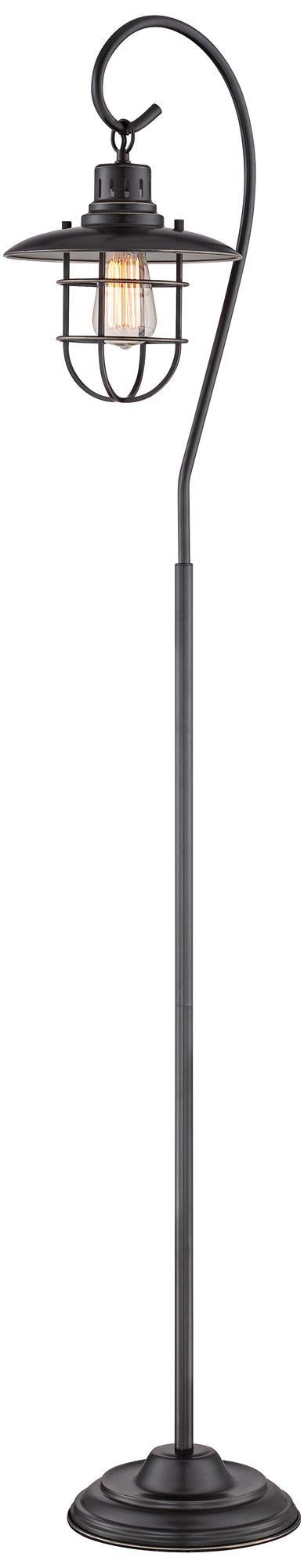 Lanterna II Bronze Floor Lamp by Lite Source