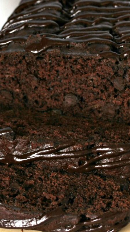 Triple Chocolate Banana Bread ~ With a triple load of chocolate, it's deliciously decadent and easy to make!