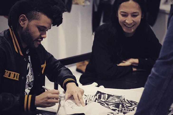 Alexander Wang and The Weeknd Created the Ultimate Cool-Kid Collaboration