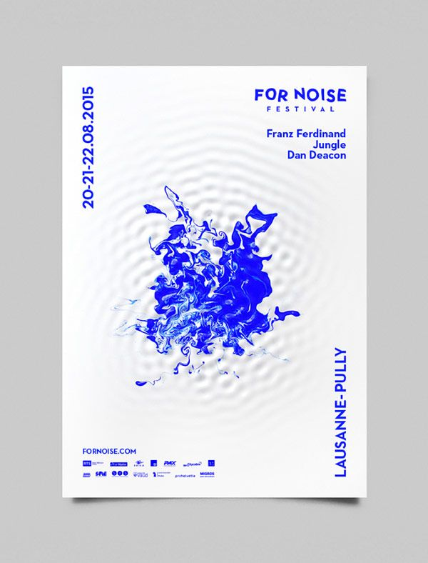 For Noise music festival poster design.