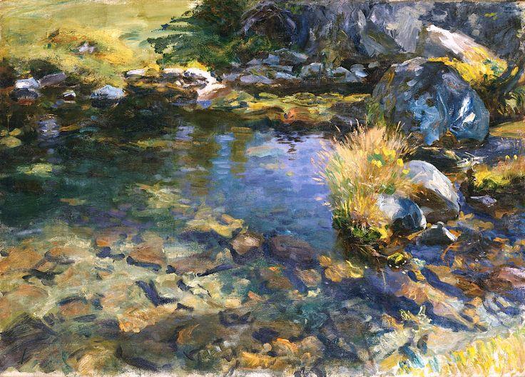 Alpine Pool - John Singer Sargent