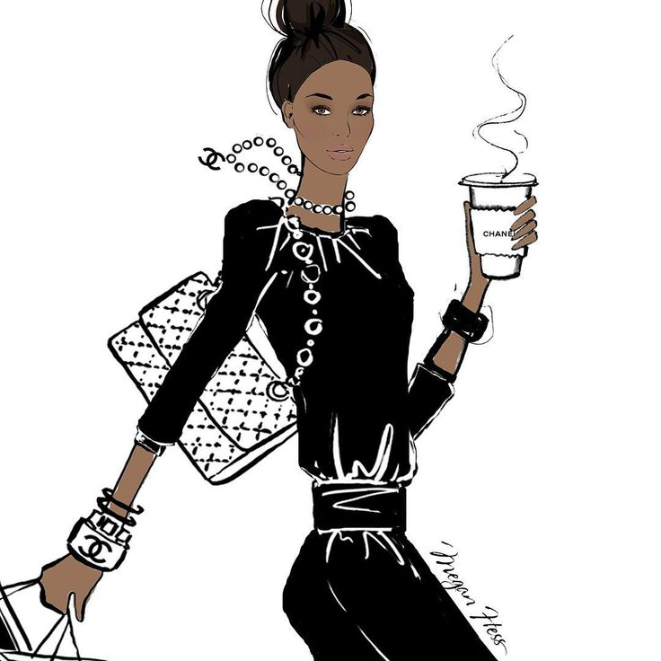 My coffee girl is on holiday today! No double shot needed, just a chic Chanel blend.