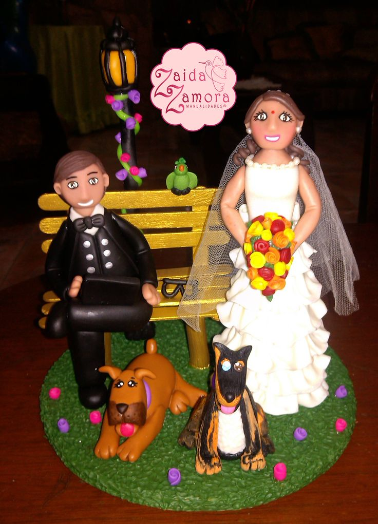 Novios personalizados para la boda de tu sueños