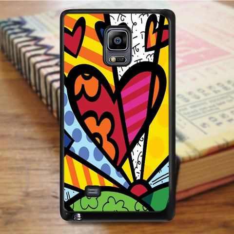 Romero Britto Pop Art Colorful Samsung Galaxy Note 4 Case