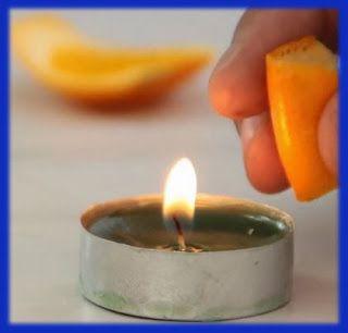 Actividades para Educación Infantil: EXPERIMENTO: naranja inflamable