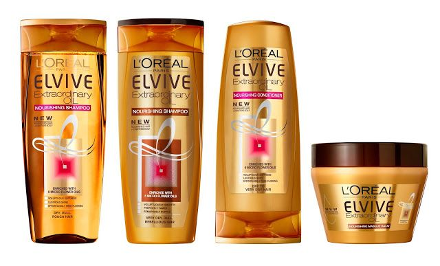 ROSES OF THOUGHTS: LOREAL PARIS ELVIVE COLLECTION