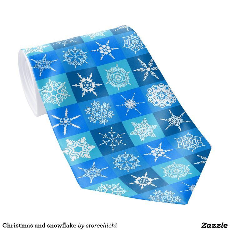 Christmas and snowflake