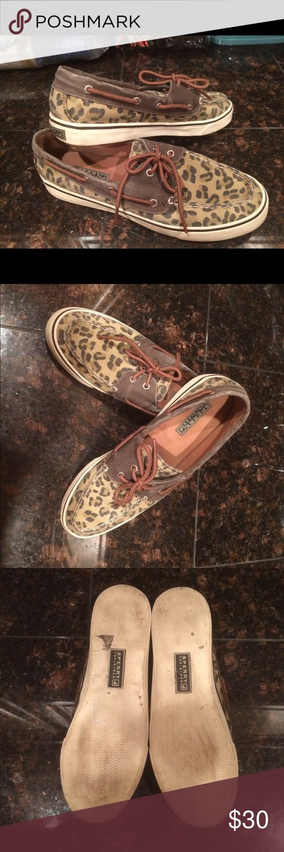 *FLASH SALE*   Sperry Top-Siders  Adorable animal print! Perfect for that weekend at the beach!  Sperry Top-Sider Shoes