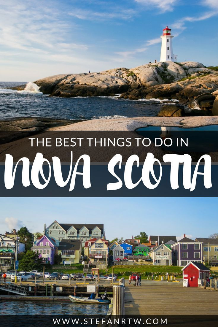 In this post I want to share some of the best things to do in Nova Scotia! If you're planning a Canada road trip it's a lot easier to explore the east coast of the country. In that case I would recommend that you visit Nova Scotia. It's a beautiful province full with tons to see and do. Check out my helpful guide for an in-depth look at the best Nova Scotia attractions! #novascotia #canada #travel