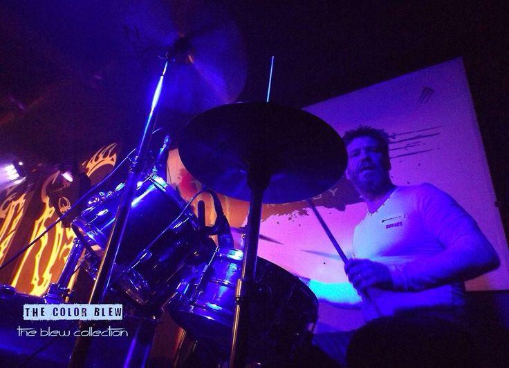 The Color Blew Live on stage - Armando the Drummer @armandomcsantos
