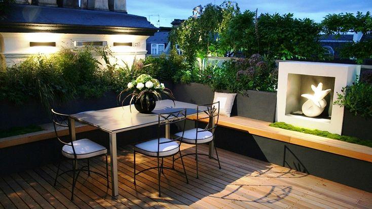 131 best r dud verandad images on pinterest small - Como decorar un patio ...
