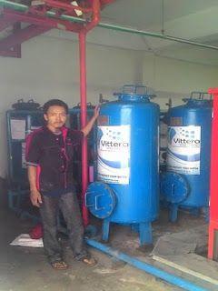 Filter Air VC4 terpasang di sekolah BPK penabur di daerah pantai indah kapuk, Jakarta Utara. Untuk memenuhi kebutuhan air bersih diseluruh area sekolah dibutuhkan 4 unit Vittera VC4. Air baku yang digunakan disekolah BPK Penabur tidak memenuhi standart air bersih, airnya berwarna kuning dan berbau serta meninggalkan bekas karat yang tebal di dinding kamar mandi, toilet dan wastafel. Para siswa dan guru sangat tidak nyaman menggunakan air yang kotor dan dapat membahayakan kesehatan mereka.