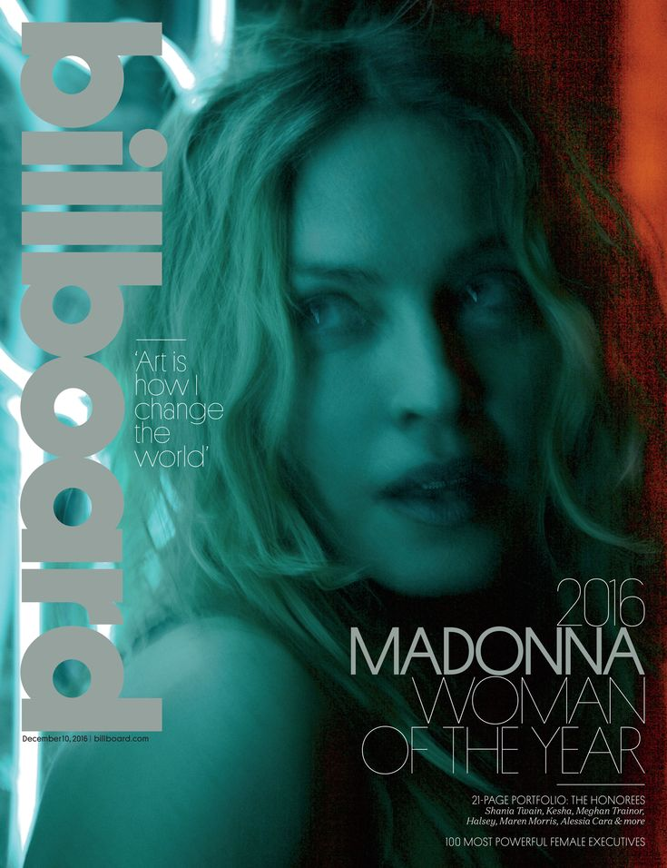 Billboard 'Woman of the Year' Madonna Gives Provocative Interview on Everything From 2016 Election to Ageism