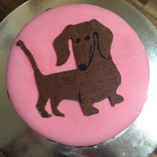 Birthday Cake Weenie Poo