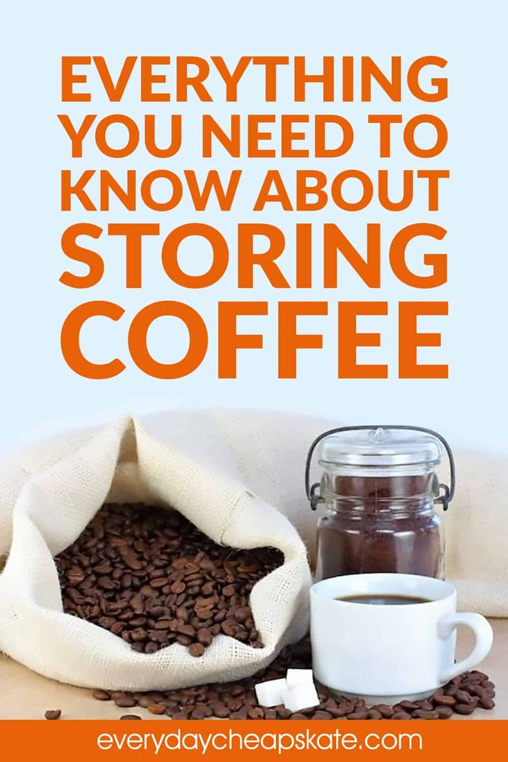 How to store coffee to keep it fresh and delicious over a