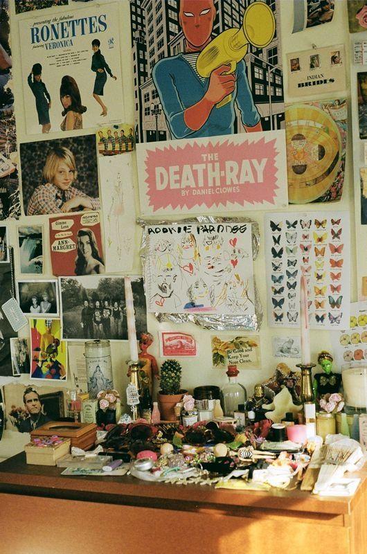Tavi Gevinson;s bedroom by Petra Collins