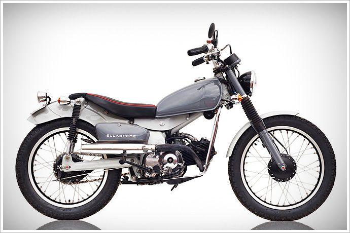 """Ellaspede's Honda CT 110 - """"Postie"""" - Pipeburn - Purveyors of Classic Motorcycles, Cafe Racers & Custom motorbikes"""
