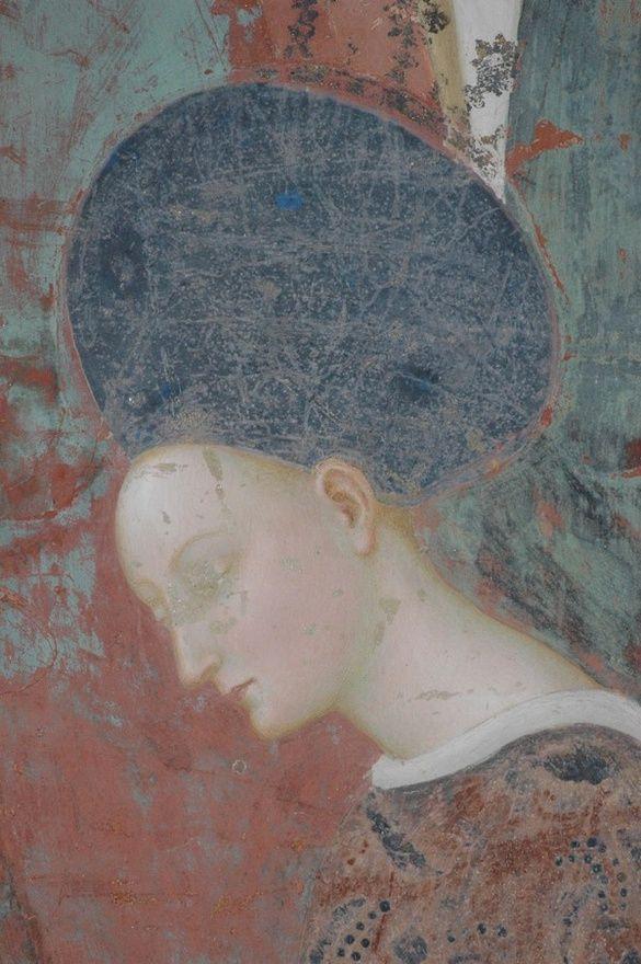 La bellissima Erodiade del Battistero della Collegiata, di pinta da Masolino da Panicale