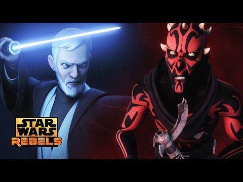 Star Wars Rebels Season 3 Trailer Breakdown! Obi-Wan vs Maul! Rogue One Death Troopers! - YouTube