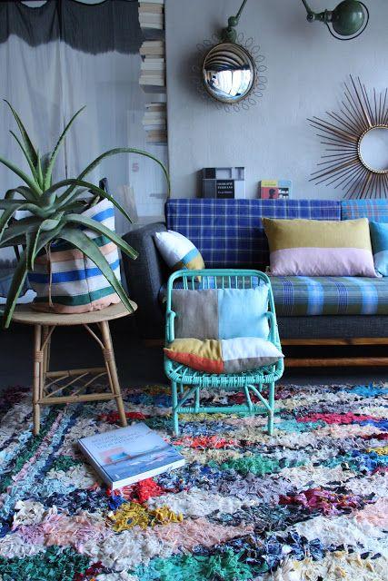 Best Blue Boho Living Room My Dream Home Pinterest 400 x 300