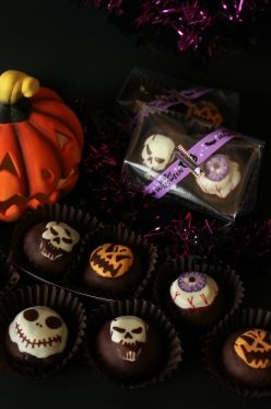 ハロウィンチョコクッキーシュー