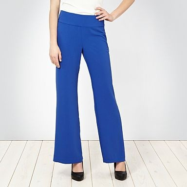 Royal blue palazzo trousers