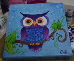 Image result for owl canvas