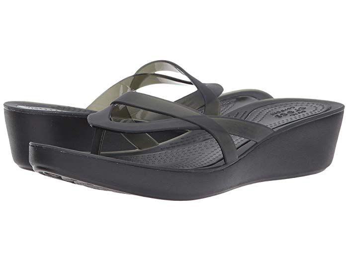 Crocs Isabella Wedge Flip at 6pm
