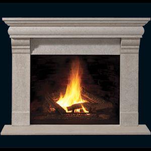 Franklin Builder Series Stone Fireplace Mantel - MantelsDirect.com